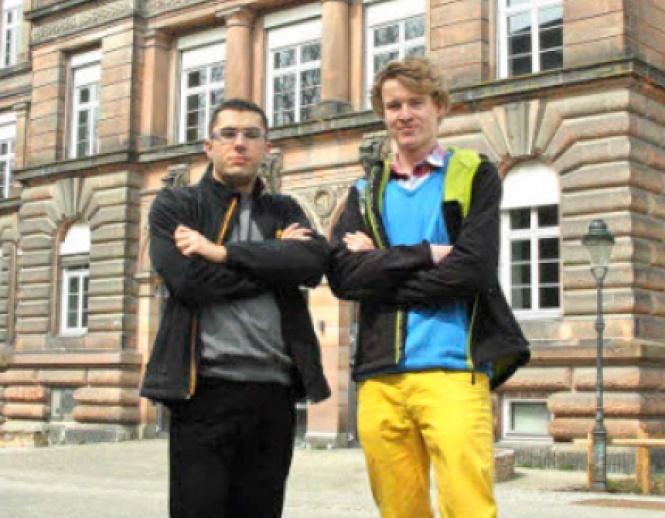 Sebastian Müller und Lukas Mörchen
